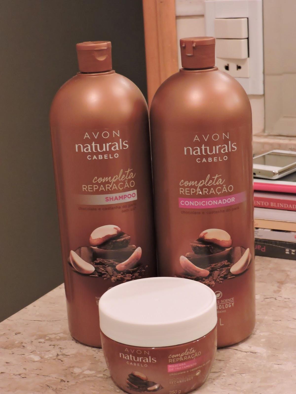 Avon Naturals Shampoo